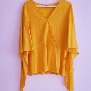 [Halston] blouse